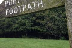 cobwebs-on-footpath-sign