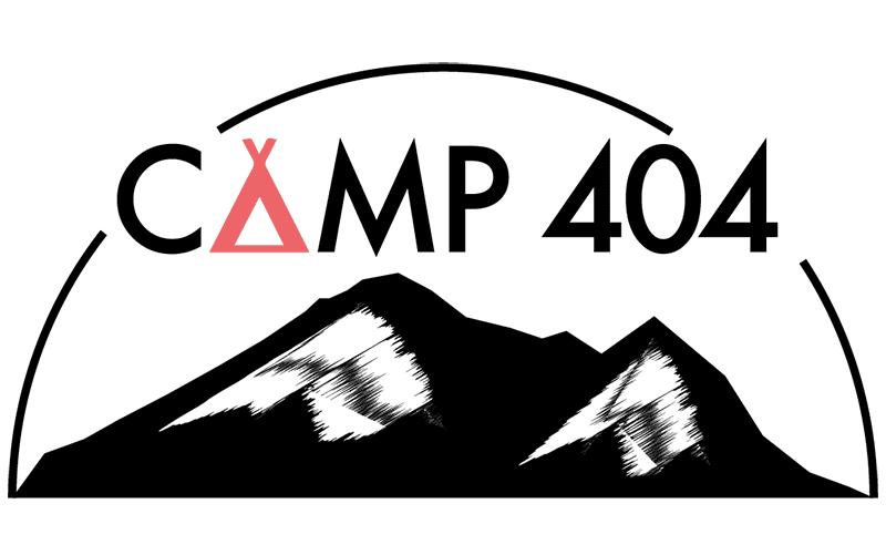 Camp 404 logo